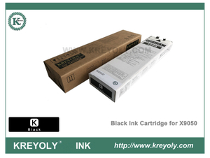 Color Cartucho de tinta negra Riso ComColor Orphis X9050