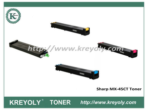 Tóner de color MX-45 para Sharp MX3500N 3501N 4500N 4501N