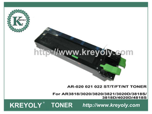 Tóner Sharp AR-020 021 022 ST / T / FT / NT