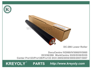 Rodillo de fusión inferior Xerox DC286 para WorkCentre 5325 5330 5335 Center Pro123 Pro128 Pro133 DocuCentre IV2060